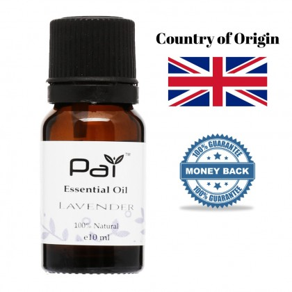 Pai Lavender Pure Essential Oil 100% Natural Paraben Free imported from UK 10ML Essential Oil