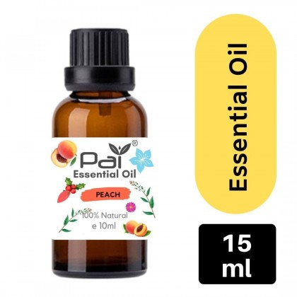 PAI Fruity Series Aromatic Peach 100% Pure Essential Oil Best for Diffuser and Aromatherapy  - Peach Essential Oil 10ml