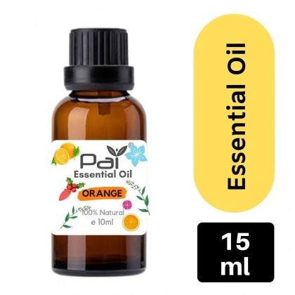 PAI Fruity Series Aromatic Citrus Sweet Orange 100% Pure Essential Oil Best for Diffuser and Aromatherapy  - Citrus Orange Essential Oil 10ml