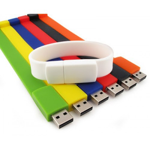 USB2.0 16GB Silicone Wristband Thumb Drive  Pen Drive Flash Drive Memory stick with 1 Year Warranty