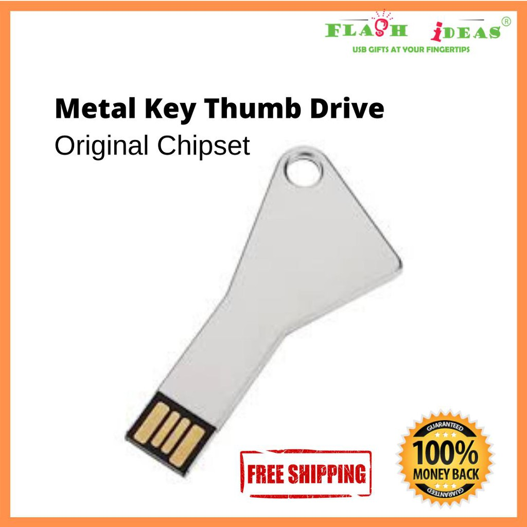Key Shaped Thumb Drive Pen Drive Flash Drive 16GB OEM Wholesale SEM-TG-KEY B